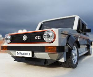 Lego Volkswagen Golf MK1 GTI replica