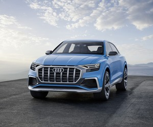 Audi unveils its luxury crossover Q8 concept