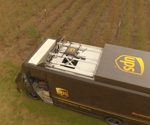 UPS unveils Delivery Truck That Can Launch A Drone