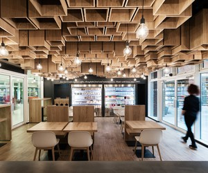 Peabodys Coffee Shop by Modourbano, London