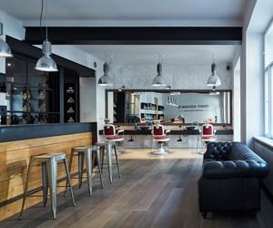 Tony Adam's Babershop in Prague by OOOOX