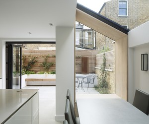 YARD Adds Lined Extension to Victorian House