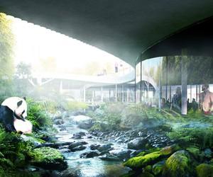 BIG Unveils Panda House For Copenhagen Zoo