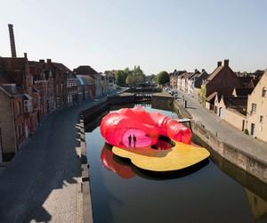 SelgasCano's Floating Pavilion in Bruges