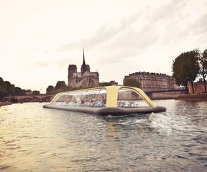Carlo Ratti's Human-Powered Gym Boat for Paris