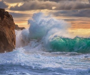 Seascapes by Giovanni Allievi