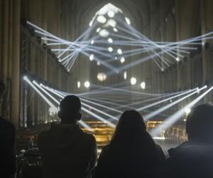 Jason Bruges's Light Masonry installation in York