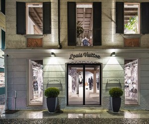 Louis Vuitton Men's Pop-Up Store in MIlan