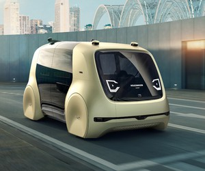 Volkswagen Unveils The Self-Driving Car Sedric