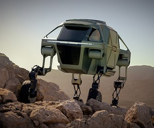Hyundai Elevate Walking Car Concept