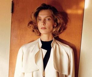 Daria Werbowy by Juergen Teller for Celine