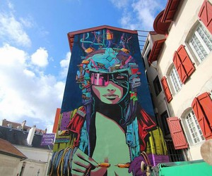 Are U ready?! - Vibrant Mural by Artist Deih