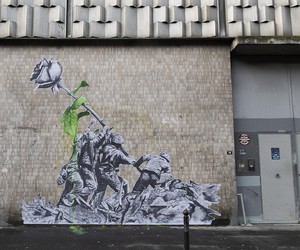 About a Rose: New Pieces by Artist Ludo in Paris