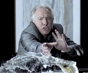 Alan Rickman in Super Slow-Motion