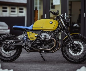 BMW NineT Yellow Baron