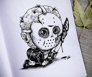Famous Horror Characters Illustrated As Babies