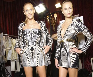 Backstage at Balmain Spring/Summer 2012 Collection
