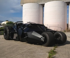 Street Legal Batman Tumbler