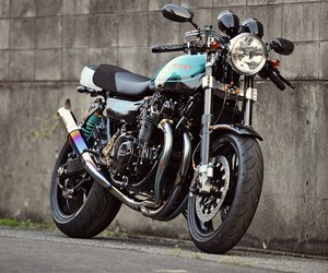 Custom Kawasaki Z1 by Nitron
