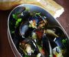 Mussels with White Wine, Garlic & Chilli