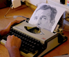"""Typewritten Portraits"" – B&W Portraits"