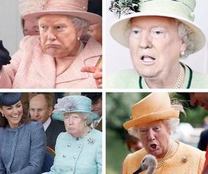 Donald Trump x The Queen