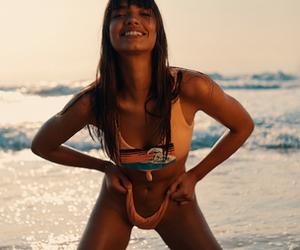 Beachin' with Model Larissa Diniz in France
