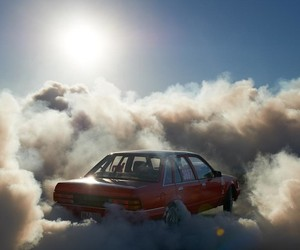 """Car Burnouts Photography"" by  Simon Davidson"
