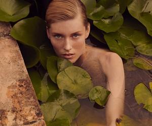 Caroline Lossberg by Andreas Ortner for Vogue