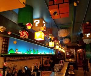 Super Mario Themed Pop-Up Bar