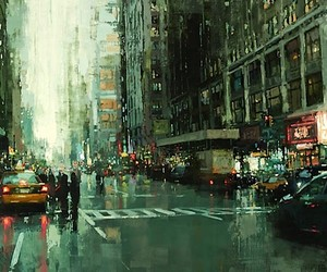 Cityscapes - Gritty Oil Paintings by Jeremy Mann