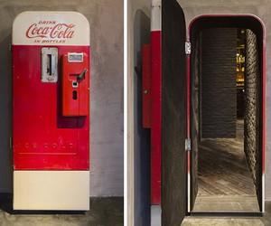 Flask: Bar Hidden Behind Coke Machine