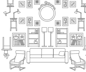#ColorWithIKEA: Coloring book pages from IKEA