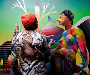 A Year in the Life of Spanish Street Artist Okuda