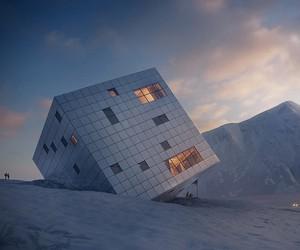 Cube Mountain Cabin in Slovakia