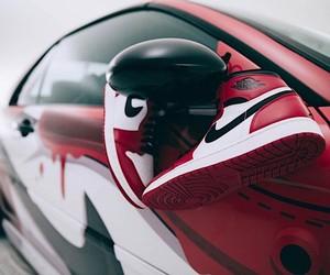 Nike Air Jordan 1 Sneaker-Themed BMW M3