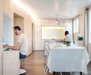 Flat in Tours by Edouard Brunet & Julie Duchateau