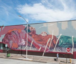 """Dog Daze of Summer"" - Mural by TELMO MIEL"