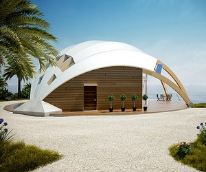 Eco-Conscious Dome House