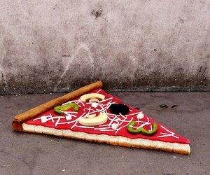 Artist Lor-K Turns Old Mattresses into Giant Foods