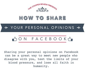 How to Share Your Personal Opinions on Facebook
