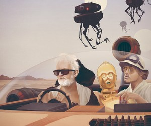 Fear and Loathing on Tatooine Print