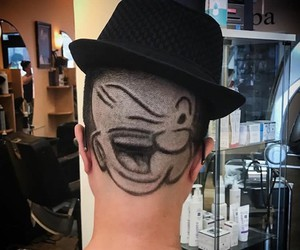 Haircut of the Day - Popeye-Edition