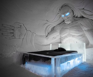 """""""Game of Thrones""""-inspired Ice-Hotel in Finland"""