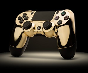 24K Gold Controllers by Colorware