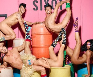 Happy Socks x David LaChapelle
