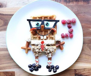 Healthy Organic Meals Turned Into Famous Cartoons