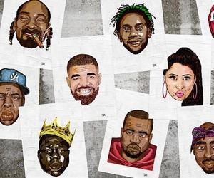 """Original Series: Hip Hop Heads"" – Illustrations"