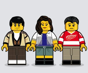 Iconic 80's Movies Remembered In Lego Minifigures