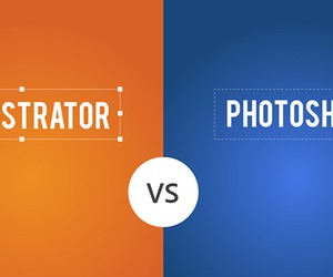 """Illustrator vs. Photoshop "": The Ultimate Softwar"
